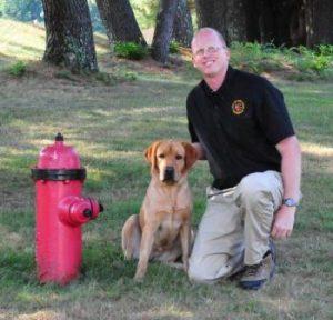 NBFD - Darby Fire Dog - 1